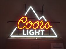 "COORS LIGHT BEER SIGN LED OPTI ""Neon""-24""x18"", NIB"