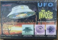 Atlantis Models # 1006 Reissue UFO The INVADERS Plastic Model Kit 1/72 Aurora
