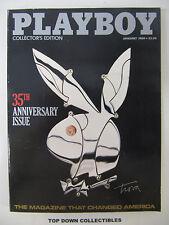 Playboy Magazine  January  1989   Vikki Dougan/Tina Louise/Bettie Page