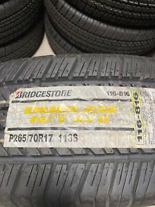 1 New P 265 70 17 Bridgestone Dueler H/T 684 II Tire