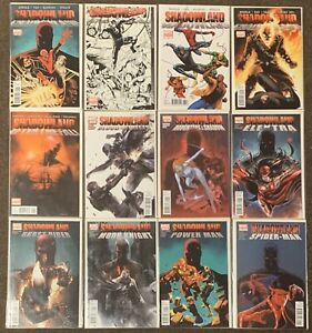 12 Daredevil Shadowland 1,2,3,5, After The Fall Blood On The Streets Spider-Man