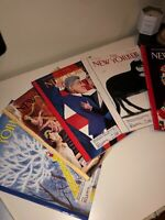 VTG 5 LOT NEW YORKER MAGAZINE DEC. 93 / MARCH 94 /OCT. NOV. 96 /APRIL MAY 97
