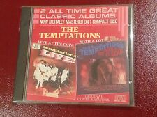 RARE TEMPTATIONS 2 ALBUMS ON 1 REMASTERED CD LIVE AT THE COPA WITH A LOT OF SOUL