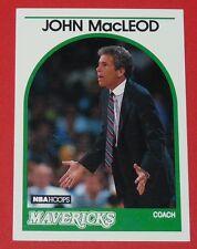 # 171 JOHN MacLEOD MAVERICKS DALLAS 1989 NBA HOOPS BASKETBALL CARD