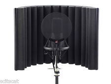 se electronics rf-x reflexion reflexion filter tragbare mikrofon vocal booth
