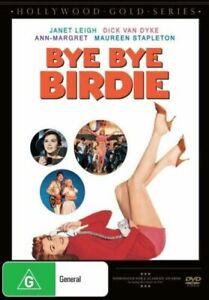 BYE BYE BIRDIE DVD 1963 NEW Region 4 Dick Van Dyke, Ann-Margret, Janet Leigh