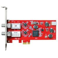 TBS6902 DVB-S2 Dual Tuner PCIe Card Watch Record Satellite FTA TV