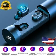 Wireless Earbuds Bluetooth Headphones Stereo Earphone Noise Cancellation Headset