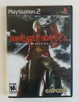 Devil May Cry 3: Dante's Awakening Sony PlayStation 2 PS2 Complete in Box 2005