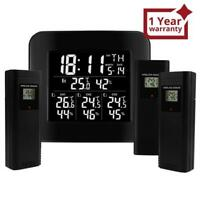 Digital Wireless Weather Station Indoor Outdoor Temperature and Humidity Measure