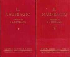 Robert Luis Stevenson IL NAUFRAGIO 2 Voll.