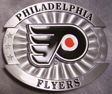 NHL Pewter Belt Buckle Philadelphia Flyers NEW Siskiyou National Hockey League