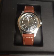 HAMILTON Khaki King Series Automatic Men's Watch black dial day date