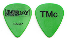 Dark New Day Troy McLawhorn Signature Green Guitar Pick - 2005 Tour Evanescence