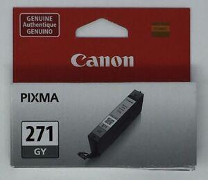 Canon Pixma CLI-271 GY Gray Printer Ink Cartridge New
