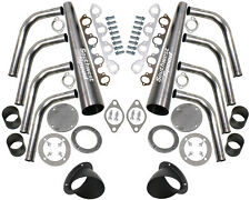 "NEW LAKE STYLE HEADER KIT WITH TURNOUTS,BBF 429-460ci BIG BLOCK FORD,4"",HOT ROD"