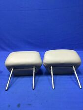 2003-2005 Lincoln Aviator Front Head Rest Set Tan Leather