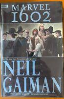 MARVEL 1602~Neil Gaiman~Oversize Hardcover Graphic Novel~SIGNED BY GAIMAN!