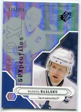 2003-04 SPx 190 Markus Naslund PRO 89/250 Profiles