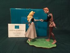 """Wdcc Sleeping Beauty - Prince Phillip & Briar Rose """"Chance Encounter"""""""