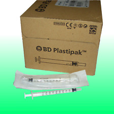 120 Stck. BD Plastipak Spritzen Einmalspritze Tuberkulin 1ml ohne Kanüle