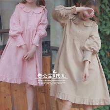 Japanese Lolita Sweet Harajuku Vintage Cute Kawaii Princess Falbala Dress #00