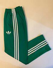 Adidas Originals ADI-Firebird Track Pants Green White Size L X46183
