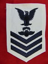 U.S. Coast Guard Po1 Aviation Survival Rescue Swimmer Rank Rating Patch