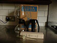 Vintage Cona Coffee Maker Junior Kitchen Model 1 Pint Capacity
