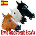 Máscara de Carnaval de Caballo Loco. Marrón, negra o blanca. Envío desde España