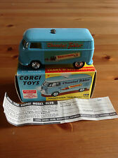 CORGI 441 VOLKSWAGEN VAN TOBLERONE ORIGINAL AND BOXED