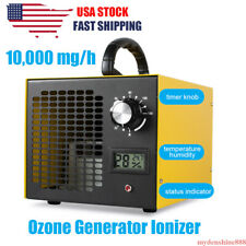 10000mg/h Portable Ozone Generator Commercial Air Purifier O3 Ionizer Ozonator