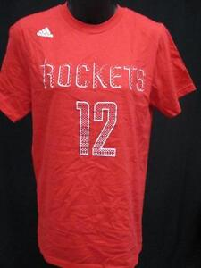 New Houston Rockets Dwight Howard Mens Size S Small Majestic Red Shirt