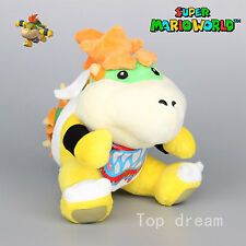 Super Mario Bros Bowser Koopa JR. Plush Soft Toy Stuffed Animal Doll Teddy 8''
