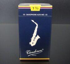 Vandoren Classic Blue Blätter 1.5 Alt Sax 10er Packung
