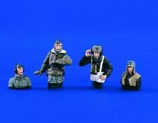 1:35 German Tank Crew Cold Weather World War 2 (WW2) 4 Figures Resin Model Kit