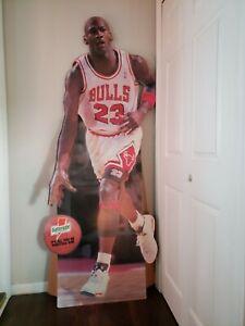 ~~RARE~~ 1992 Michael Jordan Gatorade Chicago Bulls No. 23 Life Size Stand-up