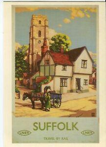 Drumahoe Postcard LNER Suffolk DGR71 repro poster Buckle