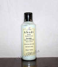 Khadi Natural Lavender Fairness Lotion- With Sheabutter- Paraben Free 210 ML