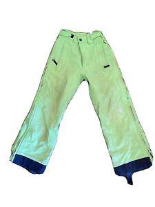 spyder boys Size 8 snow pants 20,000mm Thinsulate