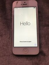 FAULTY - iPhone 5 - A1429 Smashed Screen UNTESTED
