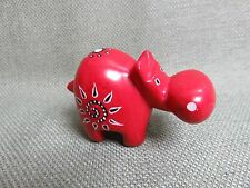 "KENYA CARVING Kisi Soapstone ""HIPPO""  African Art FAIR TRADE D"