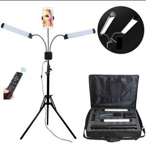 Beauty Kosmetik Lampe LED mit Handyhalter - Wimpernverlängerung, Nagelstudio