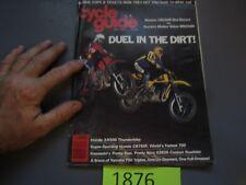 CYCLE GUIDE MAY 1979 CB750F XR500 KZ650 CR250R VS. RM250N DUEL DIRT