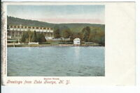 CI-241 NY, Greetings from Lake George, Marion House Undivided Back Postcard