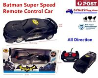 Batman super speed remote control car full direction kids toy gift