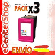 3 Cartuchos Tinta Color HP 300XL Reman HP Photosmart C4680