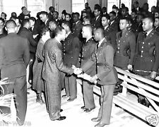 Tuskegee Airmen-Graduation day Tuskegee Army Airfield, AL School  992 pilots WW2