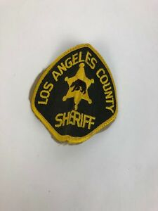Rare VINTAGE California SHERIFF PATCH LOS ANGELES COUNTY - FSTSHP