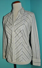 Marks & Spencer Women's Button Up Shirt Blouse Fitted size 10 UK 6 US NEW Career